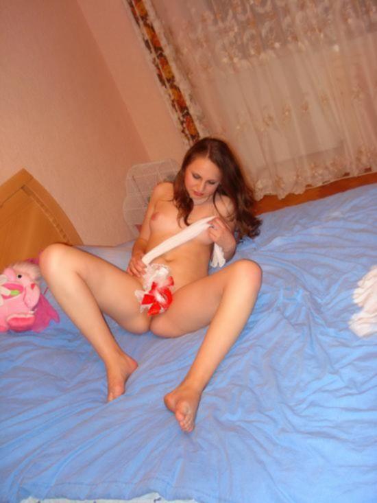 Домашнии фотографии голой русской девушки