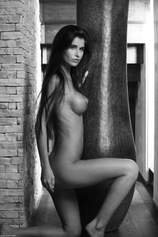 Изящная эротическая фотосессия Нессы Девил