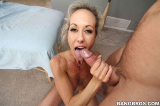 Похотливая Brandi Love после интенсивной тренировки отправилась к массажисту